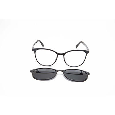 Custom Clip Eyeglasses Polarized Sunglasses Free Sample with Logo