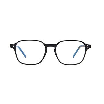Square Unisex Plastic Acetate Glasses Frames Manufacturers
